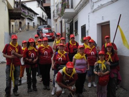 foto grupo peregrinacion