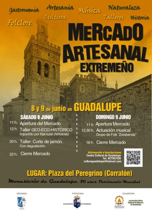 CARTEL MERCADO ARTESANAL GUADALUPE 2013-jamon